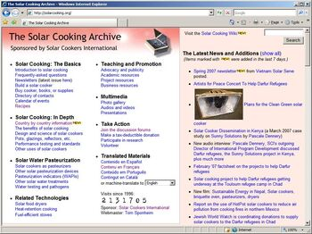 Solar Cooking Archive