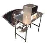 Albedo solar cooker prototype, 2-20-13