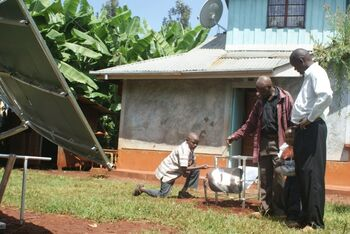 Kenya Solar Concentrator 2