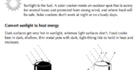 How solar cookers work