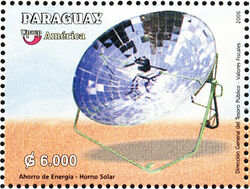 Paraguay Postage Stamp 2007