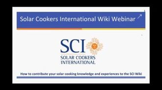 Create and Update Your Own www.solarcooking.org Page