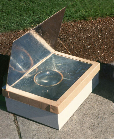 File:Minimum Solar Box Cooker Photo.jpg