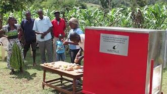 GoSol.org's Solar Oven Installed at Misire Youth Group, Kenya