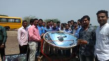 A demonstration of solar cooker performance