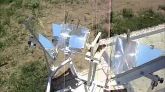 MUMA Solar Cooker Assembly test