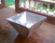 Heaven's Flame Cooker top 72 cm base 32 cm. angle 67 degrees