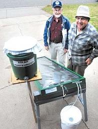 Neppler & Stevenson water pasteurizer