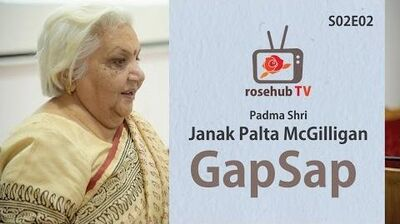 Gap Sap with Padma Shri Janak Palta McGilligan Social Worker S02E02 Hindi