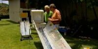 Evacuated Tube Indirect Solar Cooker