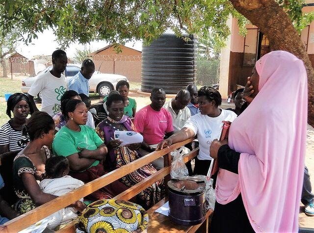 File:Training instructors Nakivale refugee settlement - September 2016.jpg