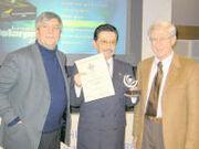 Dr. Almada receives European Solar Prize