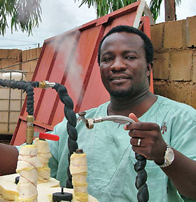 File:Founding Director of ISOMET, engineer William Burninabe.png