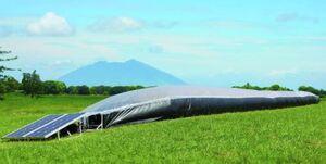 Solar Bubble Dryer, 9-20-14