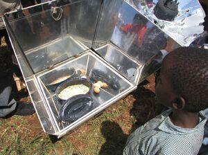 Nairobi cooking demonstration 3-09