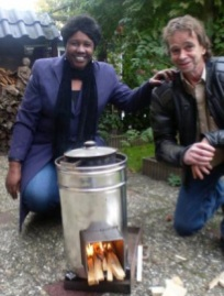 Solar Cooking Project Zambia Hans and Petty Heerebout photo