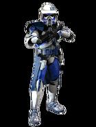 Daniel Mitchell (Armored, Armor 1) - GAR Marshal Commander Armor
