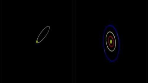 Simulation of wide binary stars planetary disruption