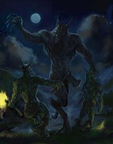 Werewolf orks by wll4u-d5xaaaz