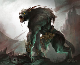 Werewolf by nightblue art-d598ni4