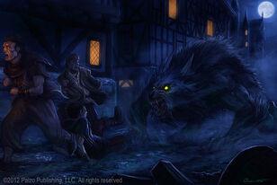 Werewolf by satibalzane-d595eqm