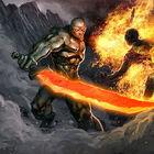 Flameblade Champion 1