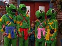 Samurai Salamanders