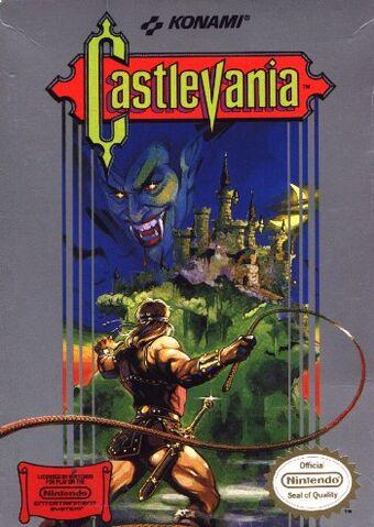 File:2Castlevania NES box art.jpg