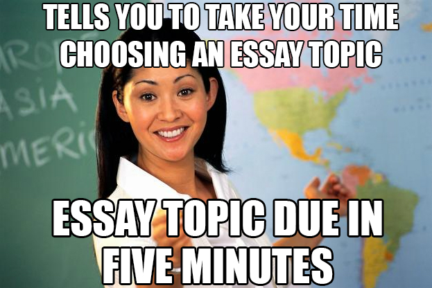 File:Carefully consider the super important essay topic by notanamewaster-d6wzuqo.jpg