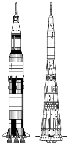 File:Saturn V vs N1 - to scale drawing.png