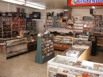 THIS IS THE VIDEO GAME STORE MEDIA GIANT NOW