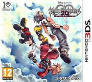 Kingdom Hearts 3D Dream Drop Distance Cover