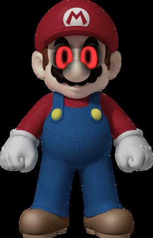 File:Demonic Mario.png