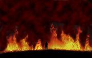 War fire scene by nikst-d329lks