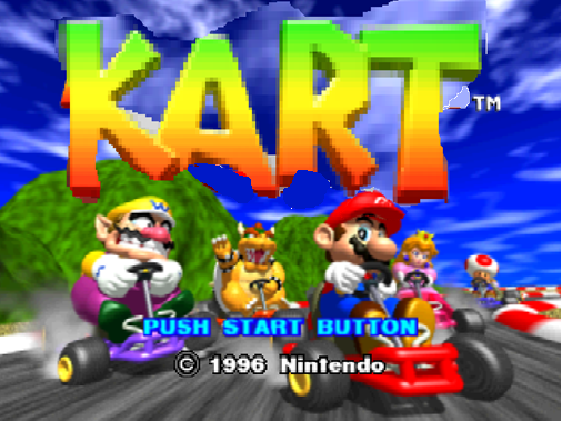 File:Kart title screen.png