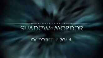 MIDDLE-EARTH SHADOW OF MORDOR LIVE GAMEPLAY TEASER