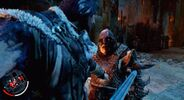 Talion is on the verge to deliver Orthog a deadly stab