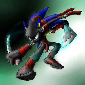Ninja Hedgehog Dude