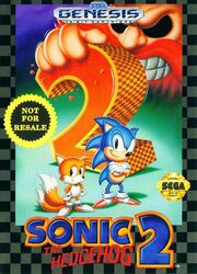 Sonic the hedgehog 2 Catridge