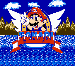 File:Somari Title Screen.png