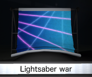 Lightsaber war slide