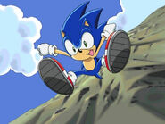 Sonic skydropping