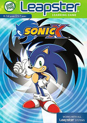 Sonic X Leapster Box