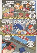 Sonic X Issue 1 page 2