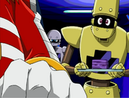 Ep3 Decoe gives cards to Eggman