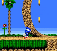 Green Hill Sonic Blast 1