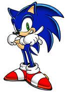 Sonic in Sonic Adventure