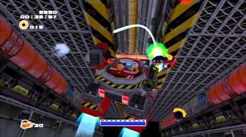 Sonic Adventure 2 (PS3) Iron Gate Mission 2 A Rank
