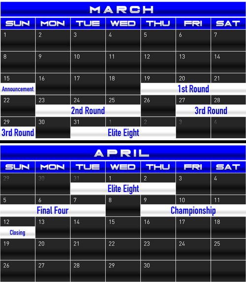 SGT Schedule 001