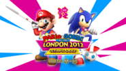 Mario and Sonic London Title